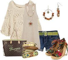 Outfits de Moda ...Me Tomo Cinco Minutos: Casual veraniego
