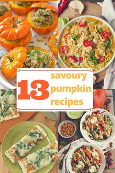 13 Savoury Pumpkin Recipes via @Slow The Cook Down