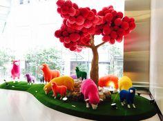 Hong Kong CNY display