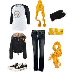 """""""Steelers Game Day!"""" by bazmom on Polyvore"""