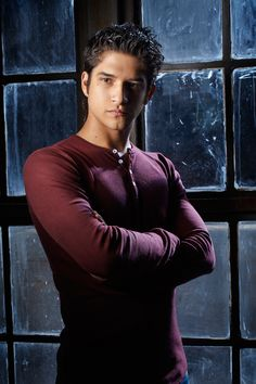 """And this is Tyler Posey, who plays Scott McCall.   A Behind-The-Scenes Look At The Insane Process Of Becoming A """"Teen Wolf"""""""