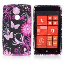 Capa Lumia 520 - Gel Flower  R$14,61