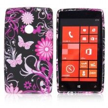 Capa Lumia 520 - Gel Flower  R$14,61