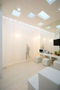 Curtains and Cubes: Dental Bliss by Integrated Field   #idontknowhowto  http://www.i-dont-know-how-to.com/