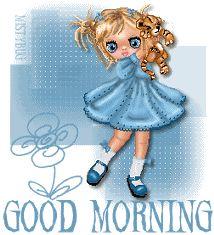 good morning coffee photo: Good Morning BluDollGdMorn1_vi.gif