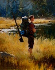 Tyler Murphy, Glimpse of Splendor, oil, 11 x 14.