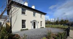 Image result for two storey house plans ireland Split Level House Plans, Square House Plans, Two Storey House Plans, Metal House Plans, House Plans South Africa, Images Of Ireland, Georgian Homes, House Extensions, Big Houses
