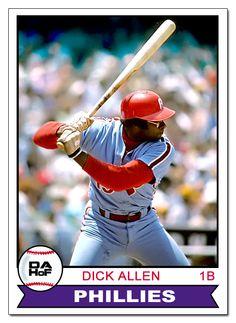 Dick Allen Hall of Fame custom card | Custom Baseball Cards ...