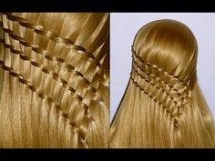 ♥ ♥ Haz click y mira el video para aprender más sobre esto paso a paso ♥ ♥ Girl Hairstyles, Braided Hairstyles, Toddler Hair, Braided Updo, Updos, Beauty Makeup, Wigs, Beauty Hacks, Braids