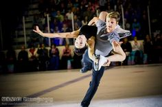 Meryl and Charlie at Ice Champions September 2015