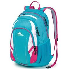 High Sierra #Backpack in Tropic Teal/White/Fuchsia