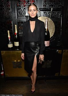 The Olivia Palermo Lookbook : Olivia Palermo At Moet & Chandon Pre-Golden Globes Party