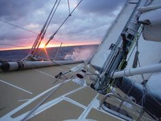 Race 4, Day 7: Baptism of Fire Subsides for Clipper Race Crew