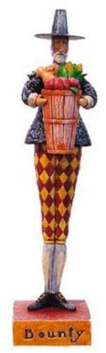 Jim Shore Bounty Thanksgiving Figurine - http://collectiblefigurines.net/enesco/jim-shore/harvest/jim-shore-bounty-thanksgiving-figurine/
