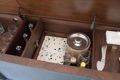 Vintage Stereo Cabinet Wet Bar