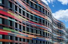 Simply beautiful. #colorful #design #concept  Colorful Architecture of a Colorful Building in Hamburg http://www.fubiz.net/en/2017/09/01/colorful-architecture-of-a-colorful-building-in-hamburg-2/?utm_campaign=crowdfire&utm_content=crowdfire&utm_medium=social&utm_source=pinterest