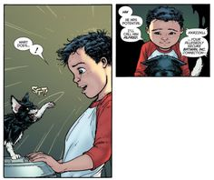 That's Damian Wayne for ya.
