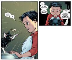 That's Damian Wayne for ya.