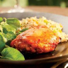 Lime-Honey Glazed Chicken Recipe