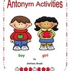This is a 43 page antonym unit designed to  help build student' vocabulary in a fun and interactive way.This antonym unit includes:*Antonym...