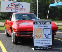 1963 Chevrolet Corvette Coupe 327V8 - 340HP Numbers Matching for sale  Call for price $$$$$$