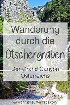 Lust auf eine #Wanderung durch die #Ötschergräben im #Mostviertel? Hier findest du meinen #Wanderbericht über den Grand Canyon Österreichs: https://www.christineunterwegs.com/wandern/wandern-oetschergraeben/