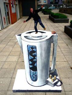 55+ Amazing 3D Street Art Guerrilla Marketing   Art