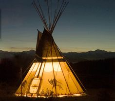 Camping. For those people in my life that somehow have a place in their heart for sleeping outside.