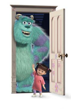 I love monsters on pinterest monsters inc for Monsters inc bathroom scene