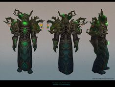 MoP Druid Hunted Forest armor by FirstKeeper.deviantart.com on @deviantART