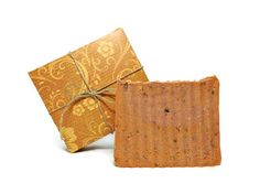 Orange Cupcake Soap Handmade Cold Process by SimpleHomeAccents, $6.25