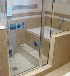 Image result for ofuro in walk-in shower