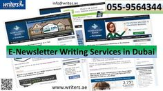 Writers.ae: Why have e-newsletters become a great marketing to...
