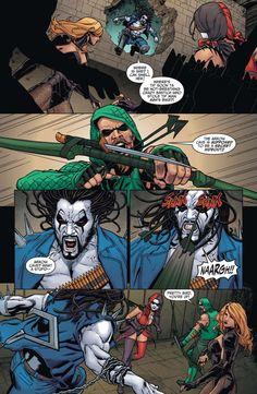 How Harley Quinn Beat Lobo