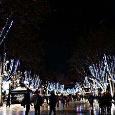 Las Ramblas / Christmas in Barcelona