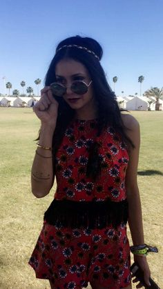 Nina Dobrev | Coachella 2016 Weekend 1 Day 3