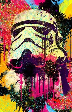 Trooper pop art - the geek in me is happy. ☺️