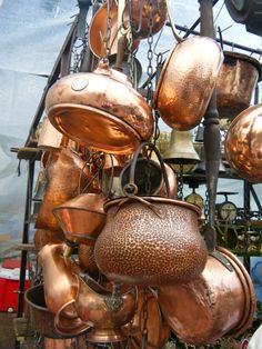 Beautiful Copper Pots