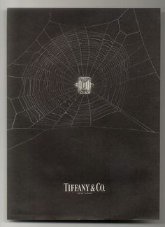 Tiffany & co 1963 fall ad - This is a great placement of a diamond ring in the center of a spider web.