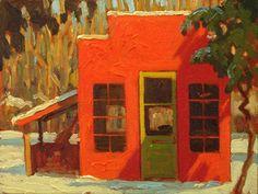 Adam Noonan Plein Air Painting