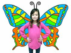 Symmetrical butterflies Kinder - using iPad, green screen, and butterfly wings created via traditional media or DoInk's green screen app Butterfly Photos, Butterfly Wings, Steam Art, Elementary Art Rooms, Math Patterns, Ipad Art, Fairytale Art, Arts Ed, Art And Technology
