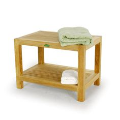 The Double Rack Spa Teak Stool is made of Certified Teak Wood. This teak stool is great for saunas, jacuzzi rooms, and showers. Teak Shower Stool, Shower Benches, Westminster Teak, Wood Spa, Dressing Stool, Swivel Rocker Recliner Chair, Farmhouse Table Chairs, Scandinavian Dining Chairs, Teak Outdoor Furniture
