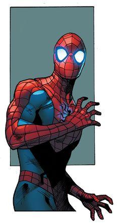 Spider-Man by Stuart Immonen #Spiders