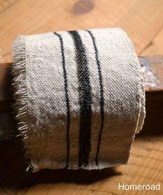 DIY+Grain+Sack+Ribbon