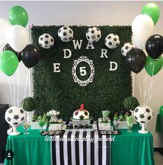 Pinjocelyn On G Bday Party Soccer Birthday Parties, Football Birthday, Soccer Party, Birthday Party Decorations, Craft Party, Decoration Party, Soccer Baby Showers, First Birthdays, Halloween