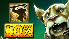 40% CRIT AND +100 ATTACK SPEED BREWMASTER 7.07 DOTA 2