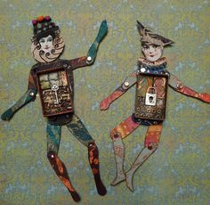 Paper Doll Art Swap - April 2011 | Flickr - Photo Sharing!