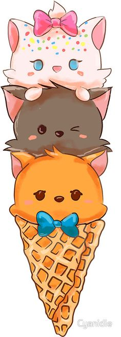 Ideas For Wallpaper Iphone Disney The Aristocats Kawaii Anime, Chat Kawaii, Kawaii Cat, Kawaii Chibi, Disney Kunst, Arte Disney, Disney Art, Disney Pixar, Disney Characters