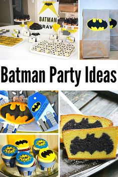 Batman Party Ideas are just what you need for the best Boys Birthday Party you've ever had!  Check out these great party planning tips!