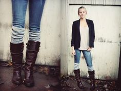 how to make boot cuffs from sweaters - Google Search